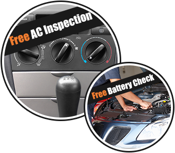 Free AC Inspection and Free Battery Check
